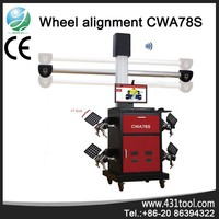 CWA78S with multi-language 4-wheel alignment