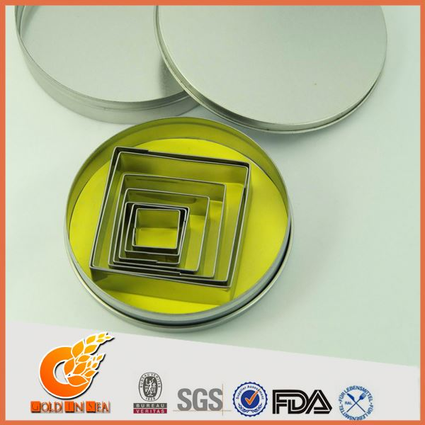 High quality materials bulk metal cookie cutters(GIS28100)