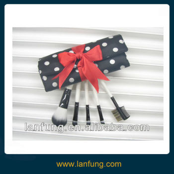 Mini Makeup Brush Set/5pcs Mini Brush Set for Gift