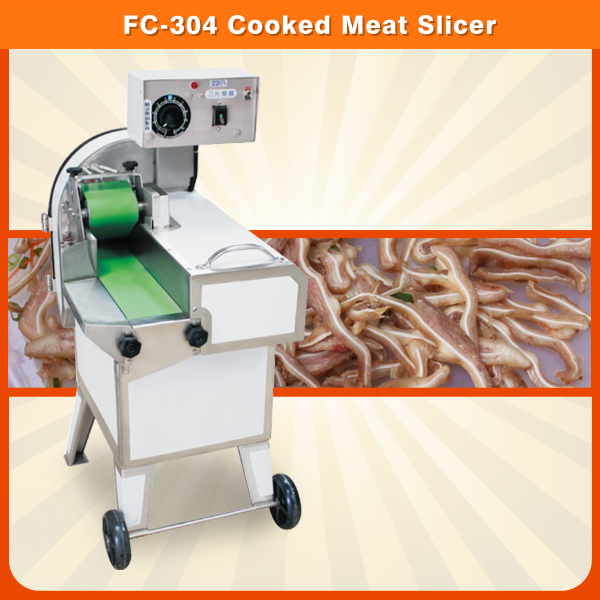 FC-304 Cooked Beef Cutter Machine Slicing Machine Cooked Meat Cutting Machine