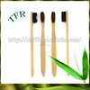 100% biodegradable eco-friendly Adult travel bamboo toothbrush