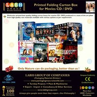 Attractive Duplex Carton for Movies CD & DVD 4