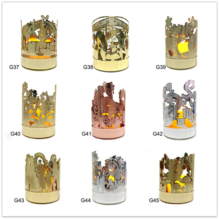 Nice quality home decoration glass candle holder craft in china