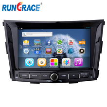Rungrace car radio for SsangYong Tivoli Tivolan auto dvd multimedia system with RDS BT 3G TV SWC automobile gps player