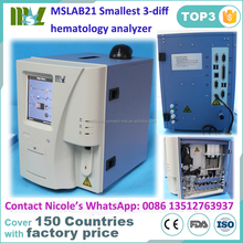 MSLAB21-I Smallest blood cell count machine/automatic CBC analyzer