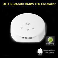 UFO 12V-24V Wireless Bluetooth V4.0 RGBW LED Strip Light Controller flashing led light controller