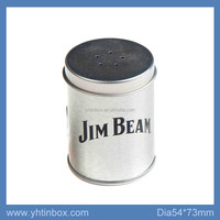 unbreakable spice tin container