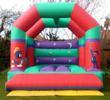 Inflatable adult looney tunes bouncy castle For sale
