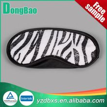 New design cheap polyester sleeping eyes mask