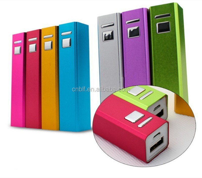 China supplier promotional universal power bank 2600mah