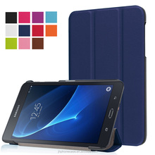 Triple armor lint leather shell case for Galaxy Tab A 7inch T280/T285