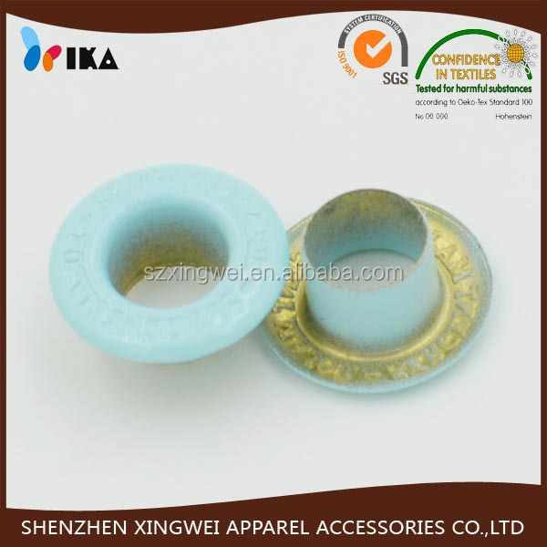 10mm colored fancy eyelet buttons for hot selling