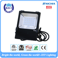 pure aluminum led flood light 100W 130LM/W Nichia 3030