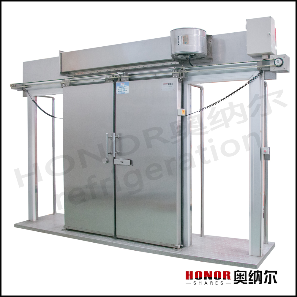 automatic sliding door for cold room cold storage room