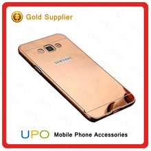 [UPO] Wholesale Aluminum Metal Bumper Case Shockproof Protective Mirror Phone Case for Samsung Galaxy A8