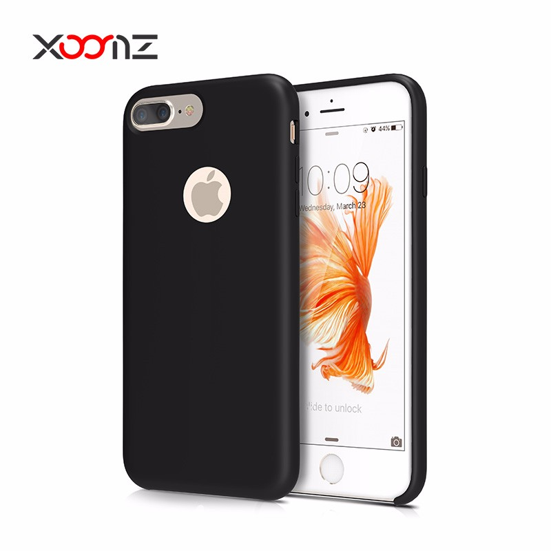 2016 New Product Original Silicone Back Cover Case for iphone 7 plus Soft TPU Mobile Phone Skin for iphone7