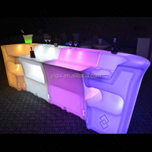 more and more people like RGB Led Lighted Inflatable Furniture table