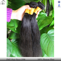 Cheap remy can be dyed unprocessed human hair weaving
