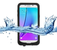waterproof 360 degree full protect silicone mobile phone accessories cover for samsung note5