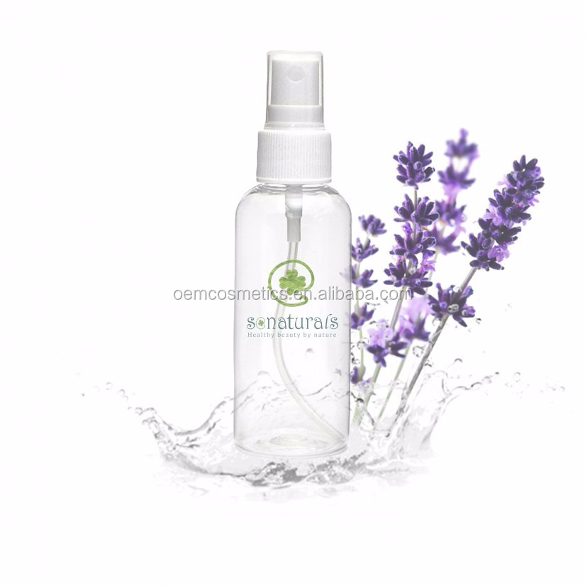 Organic Floral Water Skin Toner Lavender Blossom Water