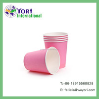 Yori custom printed and hot selling decorative pattern disposable paper cup