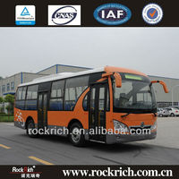 Best Quality Dongfeng Brand Manual 25 Seat Left Hand Drive City Bus For Sale