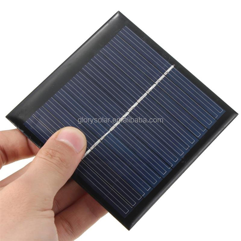 Solar Panel Manufacturers In China Offer Low Price Mini 1 Watt Solar Panel 5.5V 180mA 95*95*3MM Small Solar Panel Customization