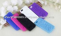 For iphone 5 silicone mobile phone case with stock