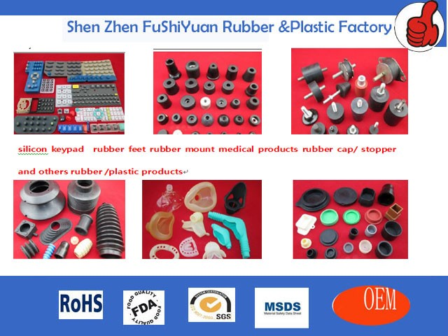 High performance OEM Customized vibration black Cylindrical engine rubber EPDM neoprene mounting damper feet Siletn Block