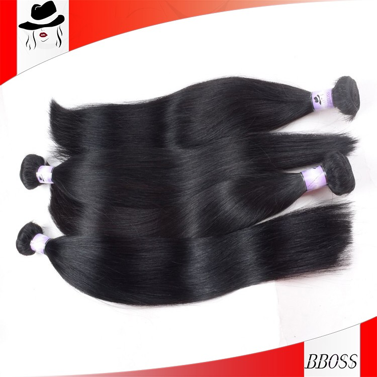 Best-selling Unprocessed peruvian hair, 26 inch hair extension, peruvian human hair