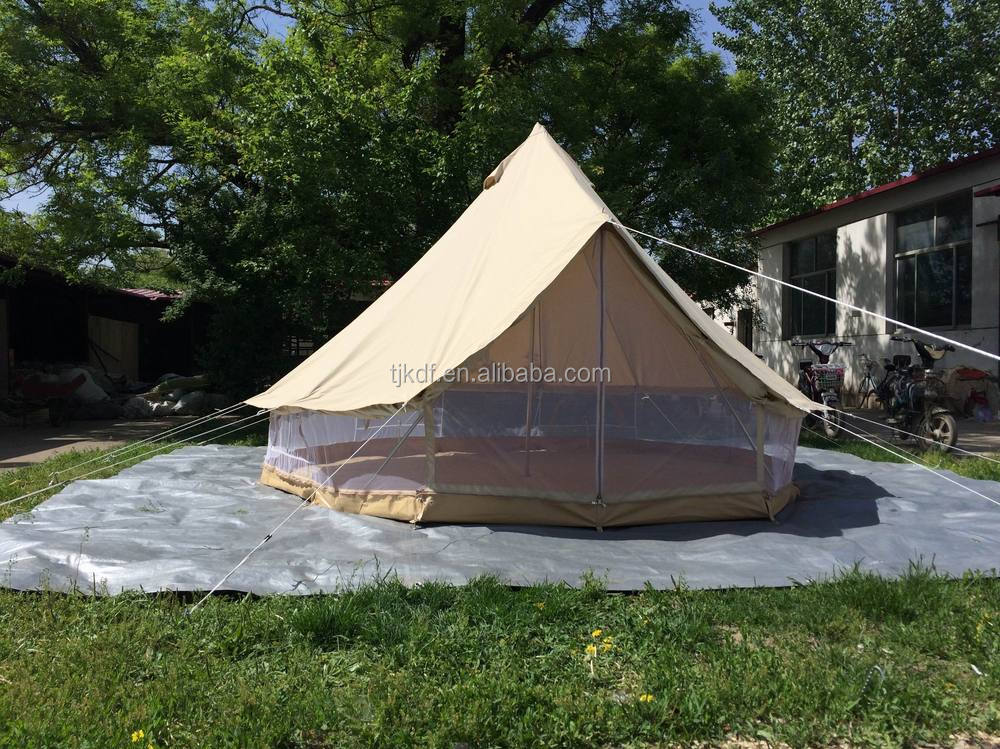 4m large round canvas tent for 6-8 persons & 4m large round canvas tent for 6-8 persons View round canvas tent ...