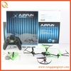top sell 2.4g 4ch rc flying model ufo rc quadcopter intruder ufo with lights with 3 axis gyro RC9704927