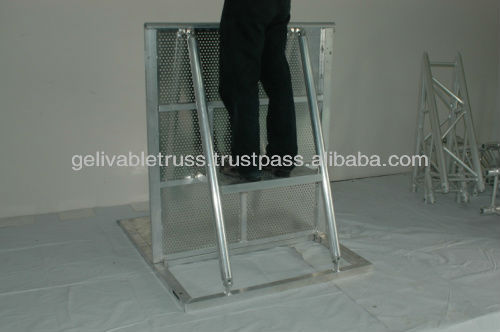 hot dipped galvanized crowded control barrier