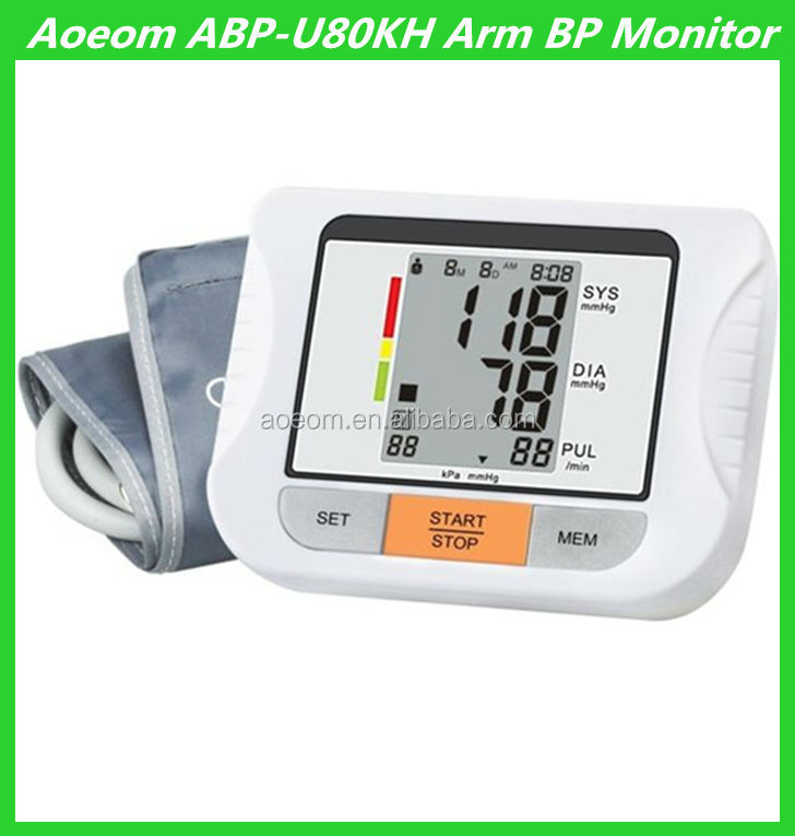 Quality Elderly Blood Pressure Measurement Digital monitor health care products for home use