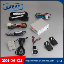 High quality anti-hijacking anti theft sound and light alarm car keyless entry aito engine PKE car alarm