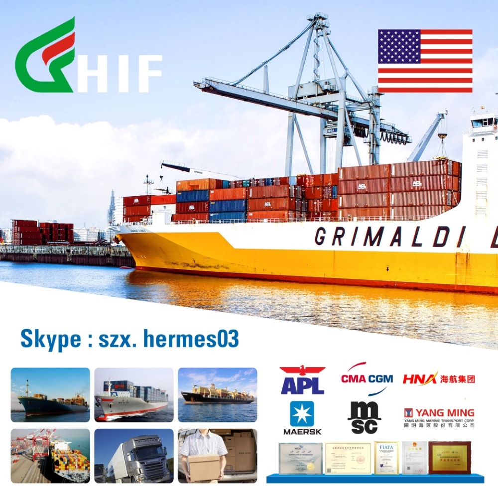 shenzhen freight forwarder transportation cargo service from china to miami