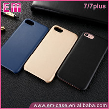 2017 Wholesale Business Man Real Leather Mobile Phone Case for Apple iPhone 7