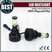 Super bright canbus h4/h7/h8/h9/h10/h11/h13/h16/9004/9005/9006/9007 wholesale head lamp led auto