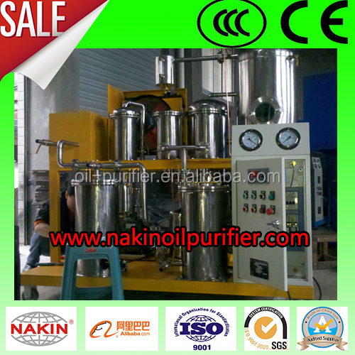 2015 cooking oil purifier, biodiesel oil purification plant