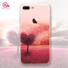 For iPhone 7 Wholesale accessories mobile phone back cover free sample UV printing case tpu cell phone case