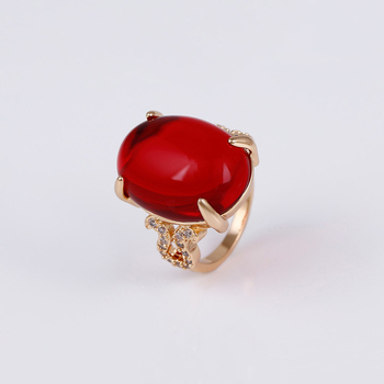 14740 xuping jewelry 18k gold plated fashion new elegant gold ring designs finger ring for women