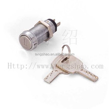 electronic key switch lock for vending machine