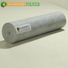 Polyester and carbon fabric nonwoven needle punched filter antistatic felt