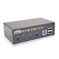 High Quality 2 Ports KVM Switch