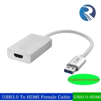 hdmi to usb 3.0 converter High speed USB 3.0 to HDMI Graphics Adapter Cable/converter HDMI to USB 3.0