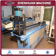 Hydraulic steel iron rectangular pipe punching machine