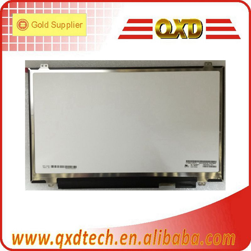 Grade A 14.0 inch paper thin Notebook LCD replacement for 2560*1440 Matte LED module B140QAN01.1