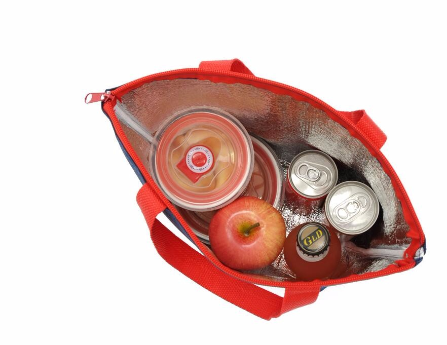 2016 insulated cooler bag nylon non woven picnic cooler bag beer wine cake foods thermal lunch cooler bag