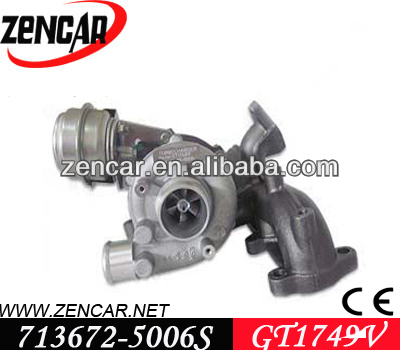 GT1749V turbo for Seat Leon 1.9 TDI with ALH, AHF Engine