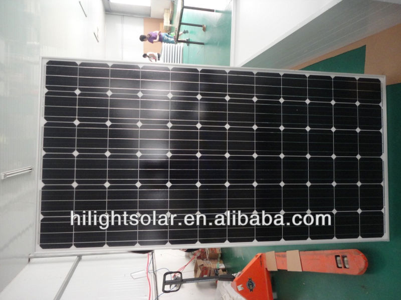 Mono solar panel pakistan lahore 240w-300w with TUV
